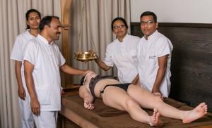 Кшира Дара масаж | Ayurveda Clinic Bansko