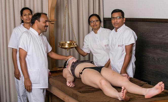 Кшира Дара масаж   Ayurveda Clinic Bansko