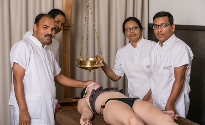 The Maharaja Dara therapy | Ayurveda Clinic Bansko