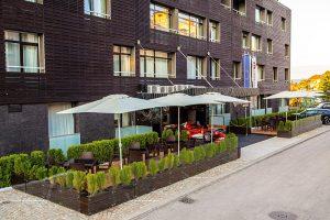 Лъки Банско – Лоби бар тераса