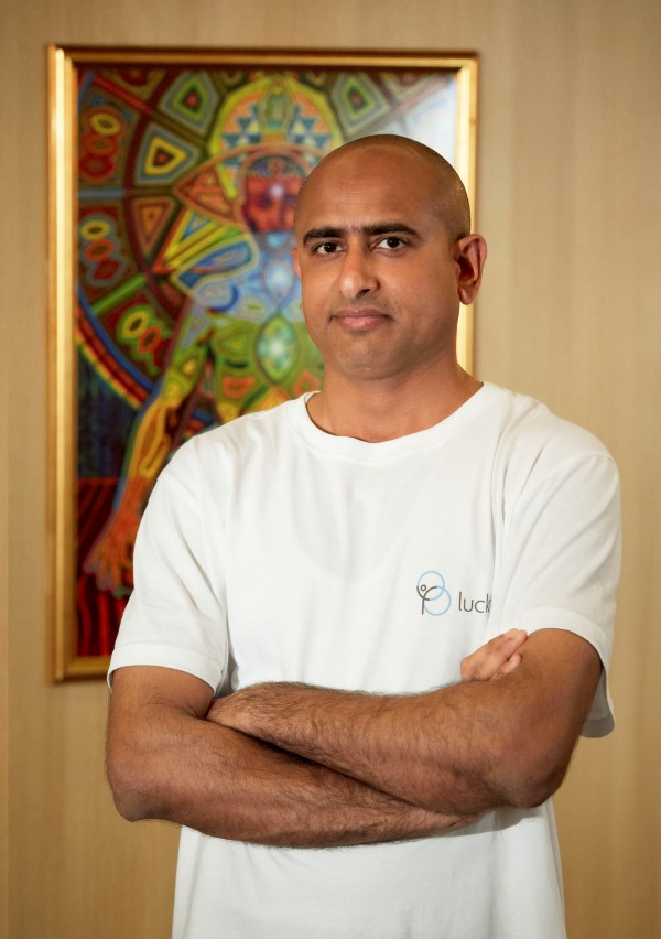 Yoga instructor Kamal Kishor