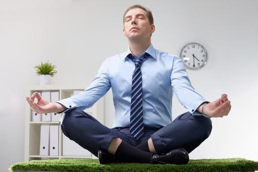 Meditation in the office | Ayurveda Clinic Bansko