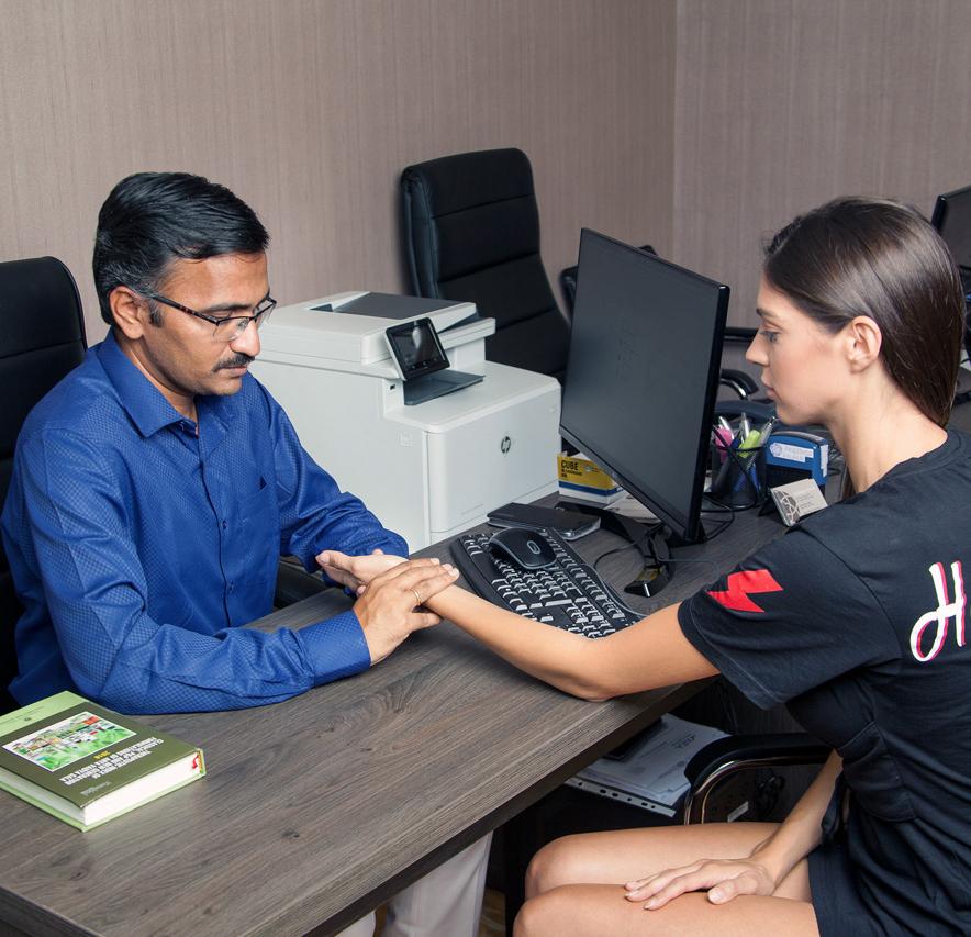 Пулсова диагностика в Аюрведа | Ayurveda Clinic Bansko