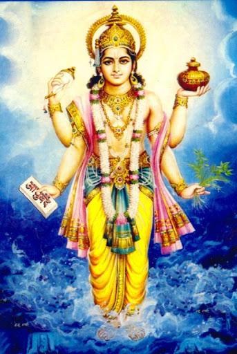Легенда за небесния лечител Dhanvantari