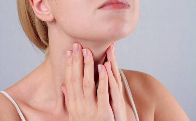 Disease of the throat - laryngitis