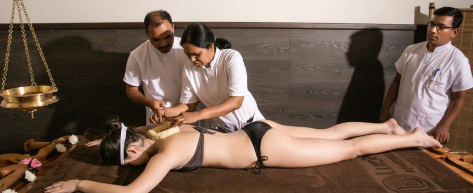 Аюрведа масаж в Аюрведа клиник Банско