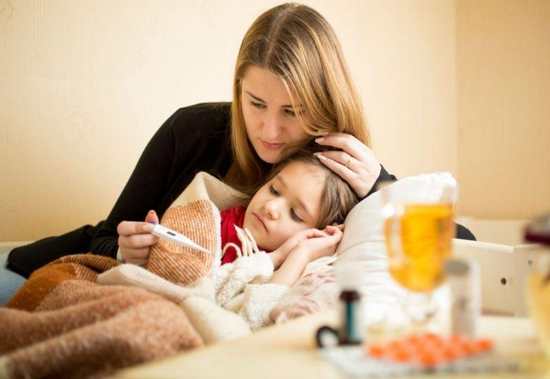 Schwache Immunität bei Kindern