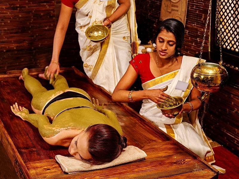 Udvartana massage din Ayurveda
