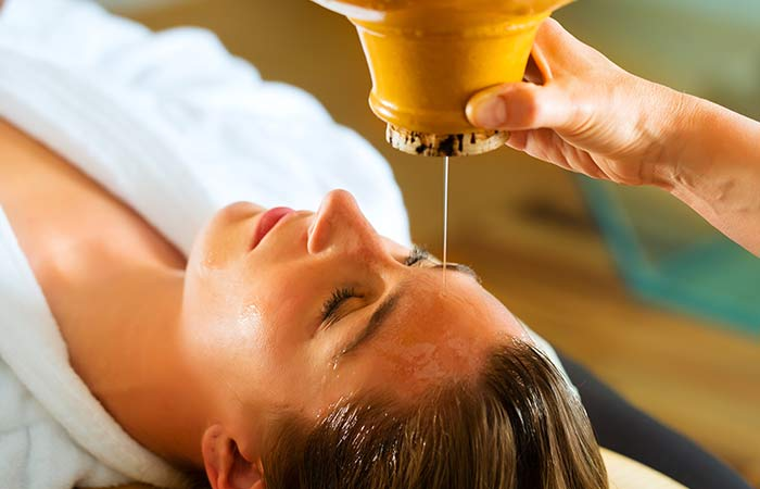 Ayurveda hair loss massages