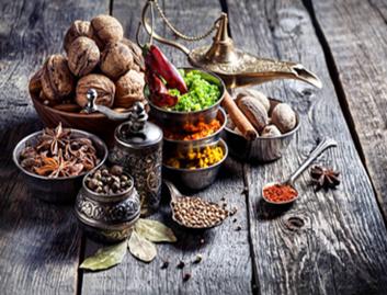 Aliments dans l'Ayurveda - épices
